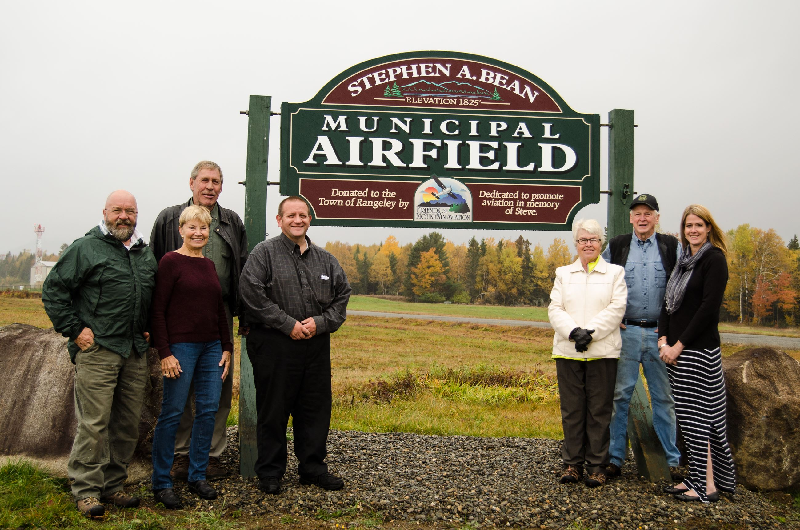 Airport Sign Dedication 10-14-15 (1 of 2)